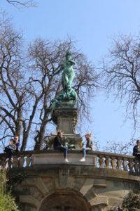 Galateabrunnen - Dettaglio
