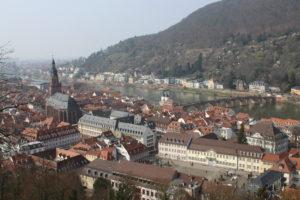 Heidelberg vista dal suo Castello - 1