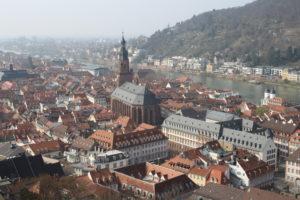 Heidelberg vista dal suo Castello - 2