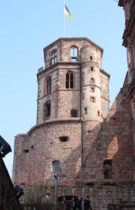 Interno del Castello di Heidelberg - 1