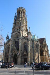 Johanneskirche - vista frontale