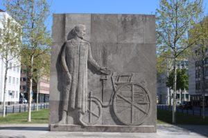 Karl Benz Memorial - Scultura