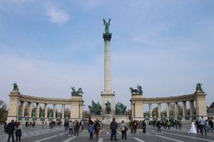 Piazza degli Eroi - Panoramica