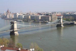 Ponte delle Catene visto dall'alto