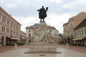 Statua di Lajos Kossuth