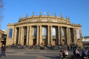 Teatro dell'Opera - vista frontale