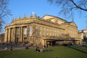 Teatro dell'Opera - vista laterale