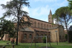 Basilica di San Giovanni Evangelista - Retro