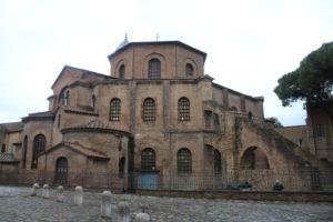 Basilica di San Vitale - Retro