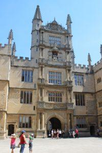 Bodleian Library - una delle facciate interne