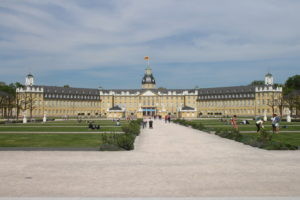 Castello di Karlsruhe - Fronte