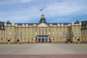 Castello di Karlsruhe - dettaglio della facciata
