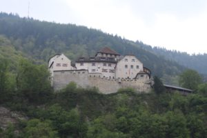 Castello di Vaduz - Fronte