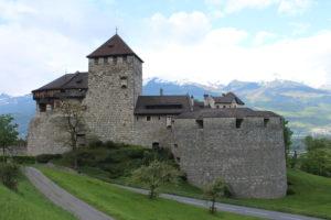 Castello di Vaduz - Retro
