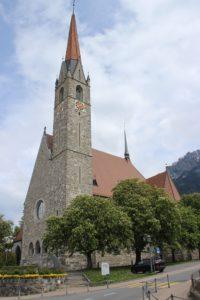 Chiesa Cattolica Schaan - Lato