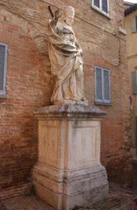 Dedicata a Papa Clemente XI°