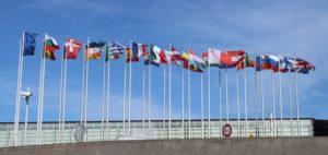 Dettaglio delle bandiere degli stati membri UE