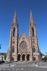 Eglise Reformèe Saint-Paul - vista frontale