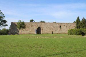 Fortezza Albornoz - fronte