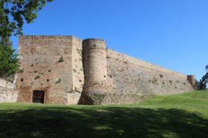 Fortezza Albornoz - vista laterale