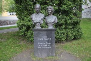 In onore di Franz Josef II e Gina von Liechtenstein