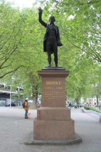 Monumento ad Edmund Burke