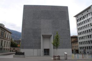 Museo d'arte dei Grigioni - Costruzione Moderna