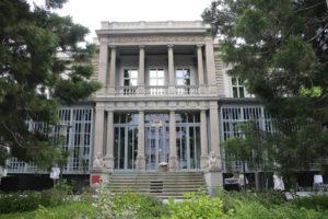 Museo d'arte dei Grigioni - facciata della villa