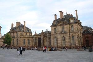 Palais Rohan - Fronte
