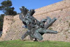 Parco della Resistenza - una singolare scultura