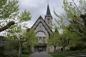 Pfarrkirche Balzers - Fronte