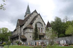 Pfarrkirche Balzers - Lato