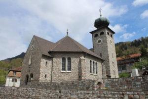 Pfarrkirche Triesenberg - Fronte