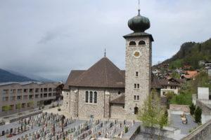 Pfarrkirche Triesenberg - Lato
