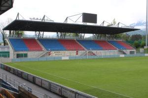 Rheinpark Stadion - Curva