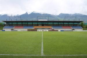 Rheinpark Stadion - tribuna