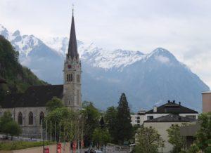 Scorcio di Vaduz