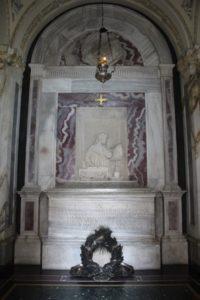 Tomba di Dante - Interno