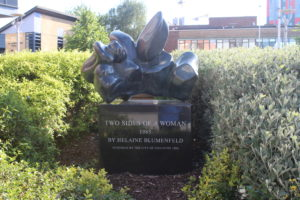 Two Sides of a Woman di Helaine Blumenfeld