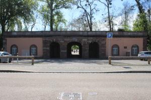 Un ingresso del Parco della Cittadella