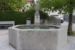 Una delle Fontane del Liechtenstein