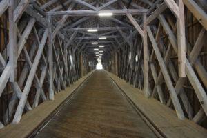 Vecchio Ponte Coperto - Interno