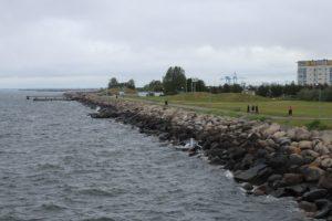 Mare che bagna il Dania Park