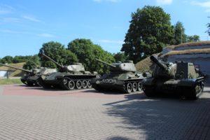 Carri Armati nella Fortezza Eroica di Brest