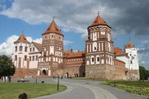 Castello di Mir - panoramica