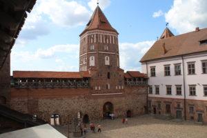 Castello di Mir - torretta