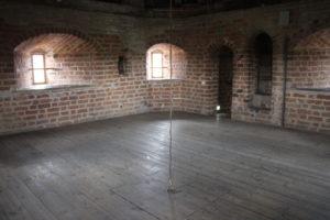 Castello di Mir - una delle stanze nelle torrette
