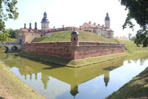Castello di Nesvizh - lato destro