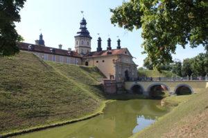 Castello di Nesvizh - lato sinistro