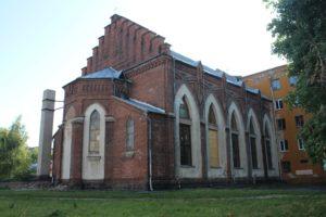 Chiesa dell'Immacolata Concezione della Vergine Maria - retro